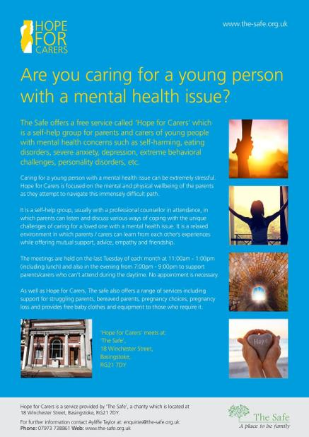 Hope for Carers flyer