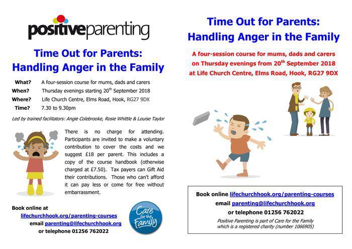 Handling anger in the family