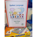 Each class has a Spoken Language Book