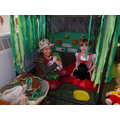 Year 1's Jungle Role Play Area