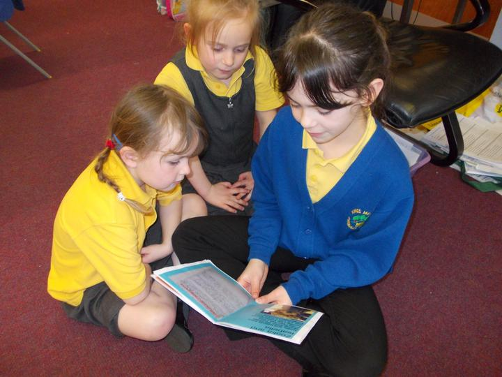 Year 1 enjoyed listening to our Rainforest stories