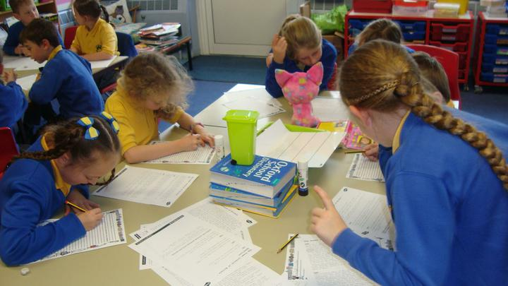 Enjoying finding out lots of information in Topic.
