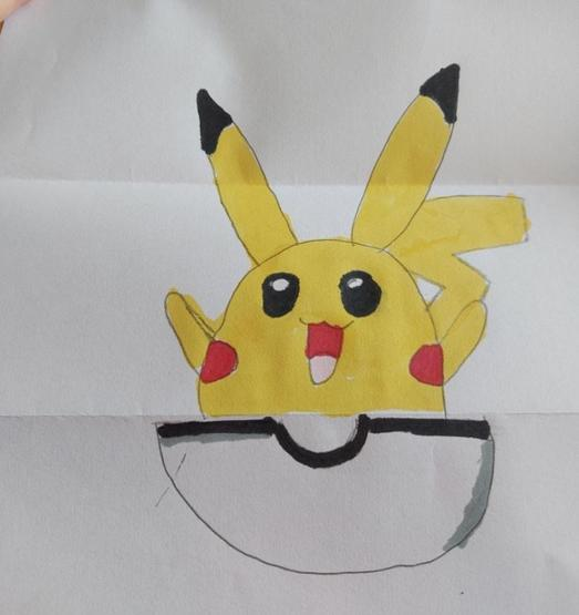 Pokemon in a Poke Ball by Maya P5 Gl