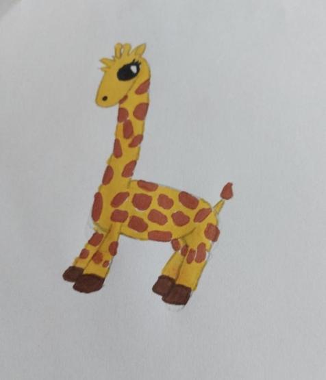 Giraffe by Maja P5 Gl