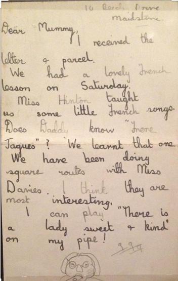 Evacuees letter 2