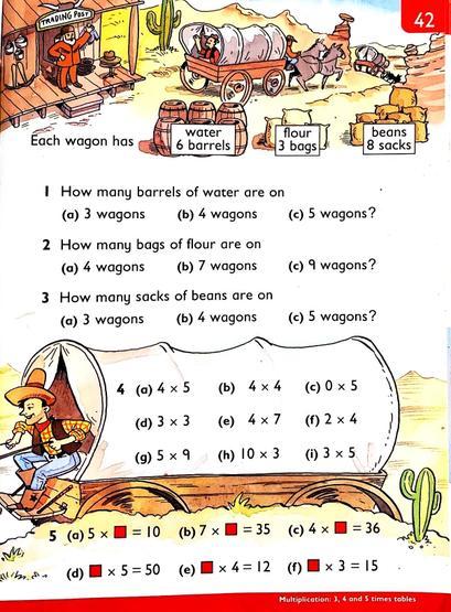 Heinemann pg42 x2,3,4,5,10.