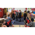 We acted out the Story of the 3Little Pigs