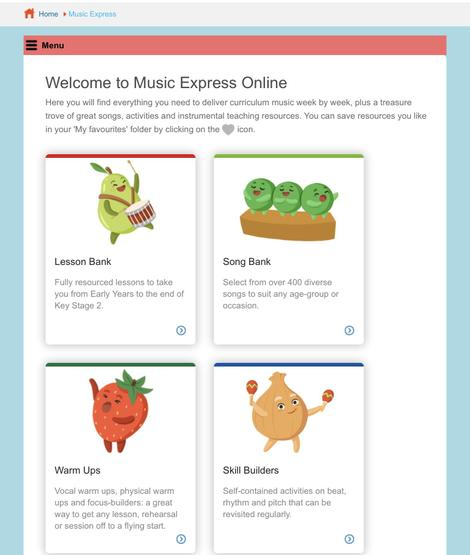 Select Song Bank
