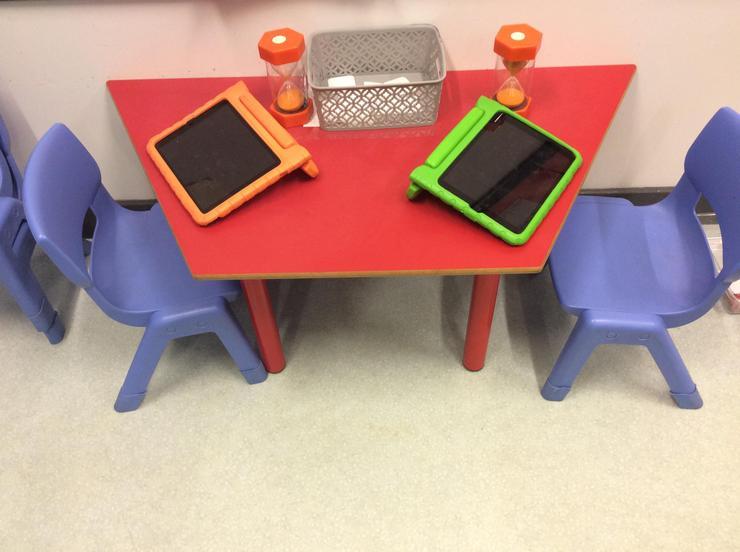 ICT area in Nursery