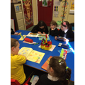 P1Oliver and P4Gardiner shared reading
