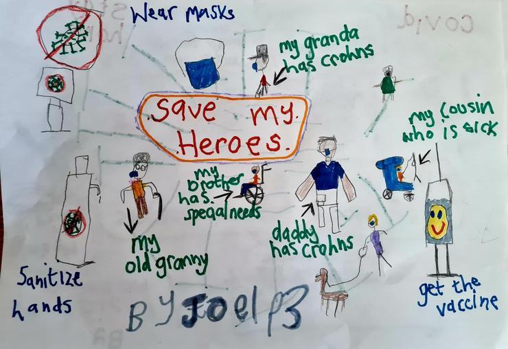 Save my heroes by Joel P3