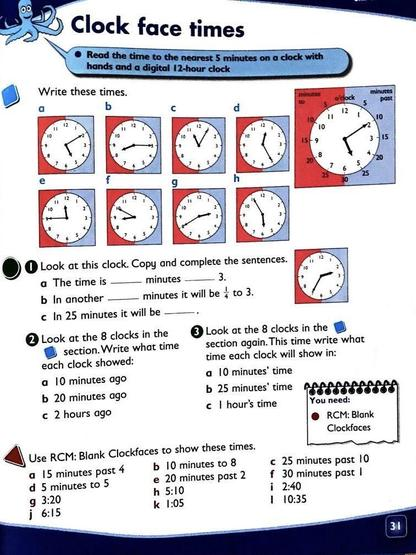 Clock face times Collins P31
