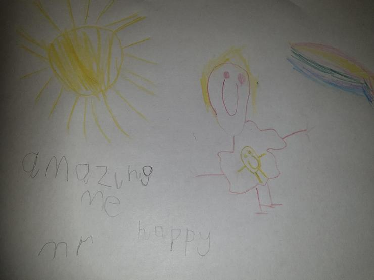 Being Mr Happy makes me amazing! By Matthew P1