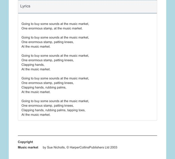 The lyrics are below to help you.