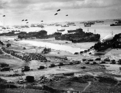 Landing at Normandy