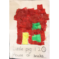 The finished House of Bricks