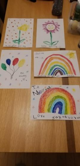 By Jaxon P1 for his Aunt and care home residents