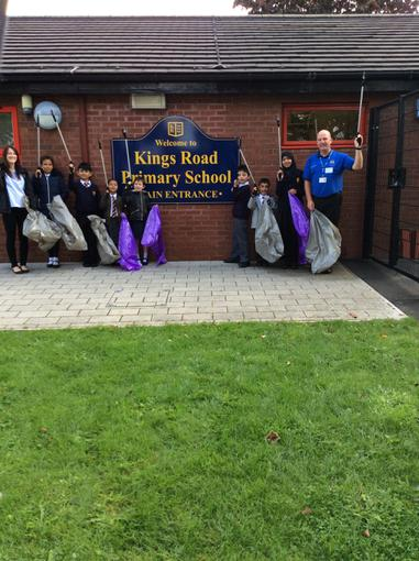 Ready to litter pick in our local community