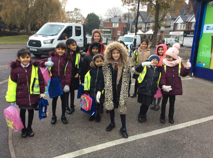 Walk to School Week #RoadSafetyWeek2018