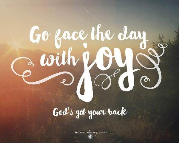The focus of our worship this week is Joy - what does this mean to you?