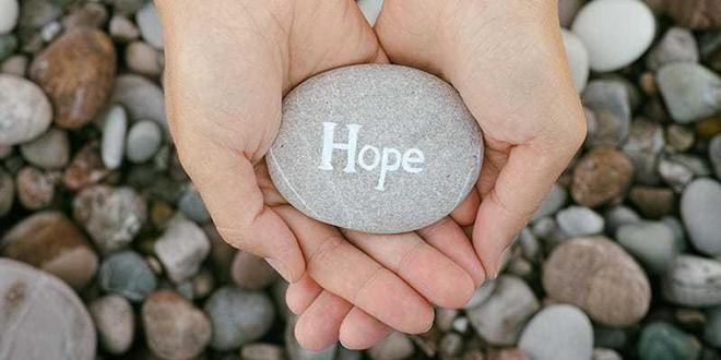 Our focus in school and Worship this week is 'Hope'
