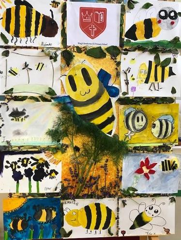 Eagle Class Year 6 Bee Canvas