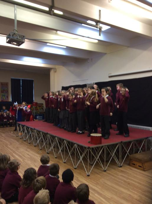 Our Key Stage 2 Choir