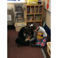 We shared books in different classes