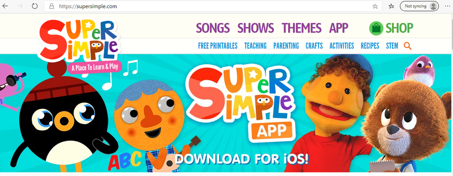 Supersimple.com has some great ideas.