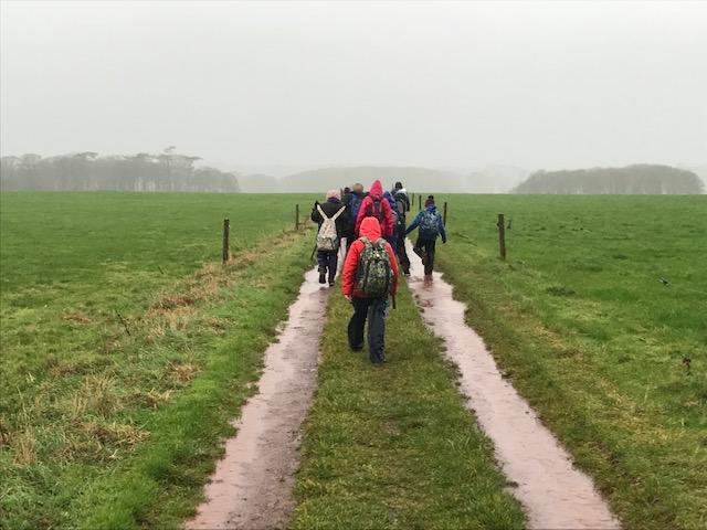 The long walk home...