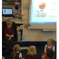 Hot seating - acting as 'the bear'
