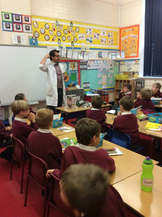 Year 3 learn about our muscles