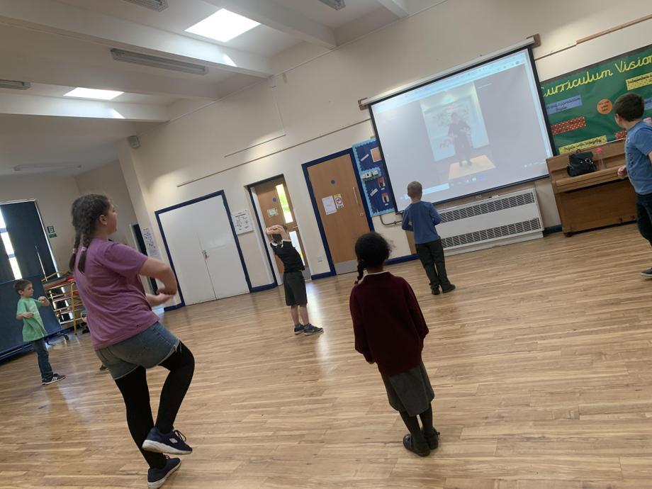We learnt some taps move alongside Adam Garcia!