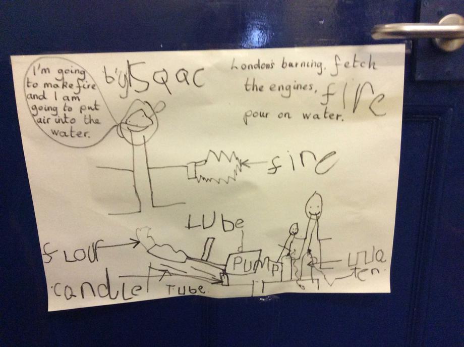 Isaac's artwork