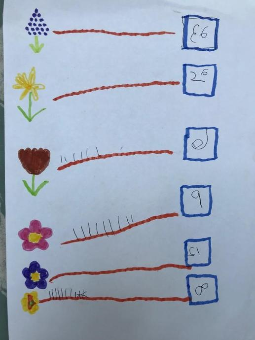 More flower counting