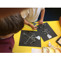 We created skeleton artwork.