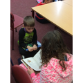 We read to children in different classes