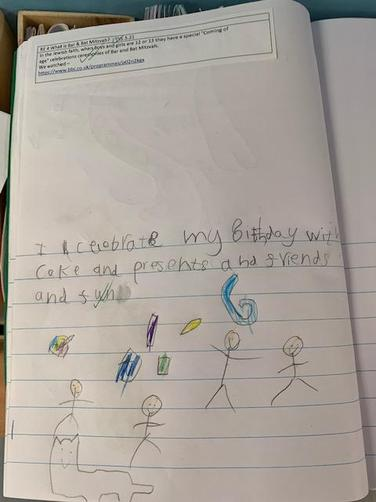 We wrote about celebrating our birthdays