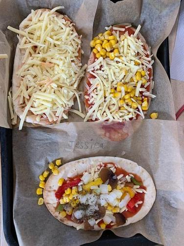 We added toppings.