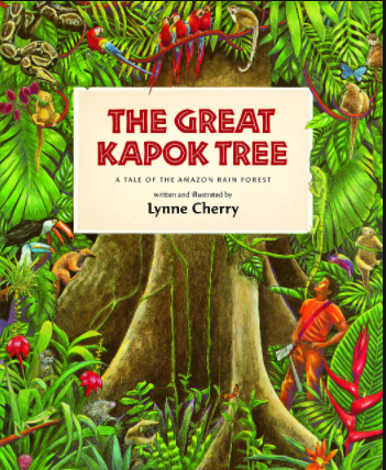 Our new class text is an amazing story about the Amazon rainforest.