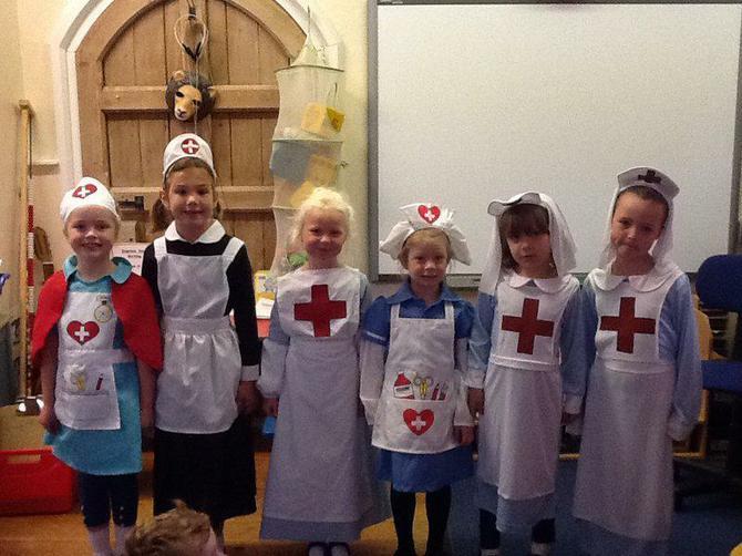 We felt safe with so many nurses