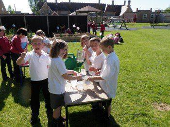 Elm class learning outside the classroom