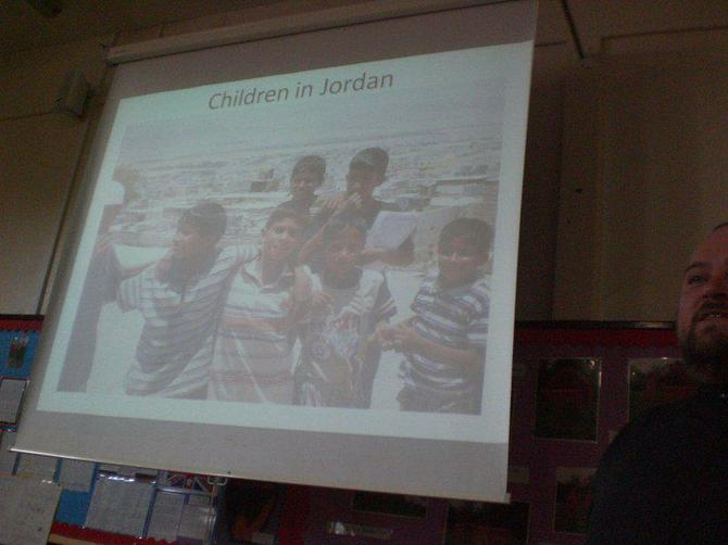 We learned about the children of Jordan.