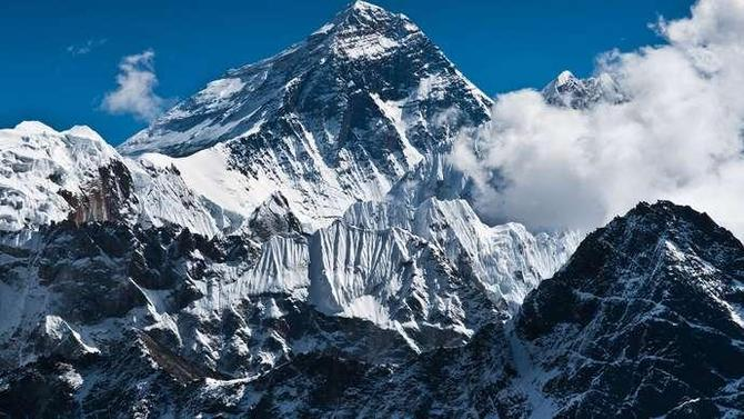 To start our learning, we looked at Google Earth to find Mount Everest.