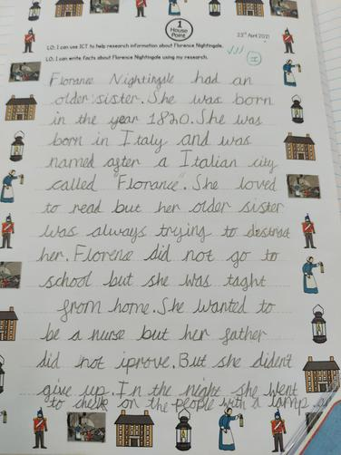 Research about Florence Nightingale