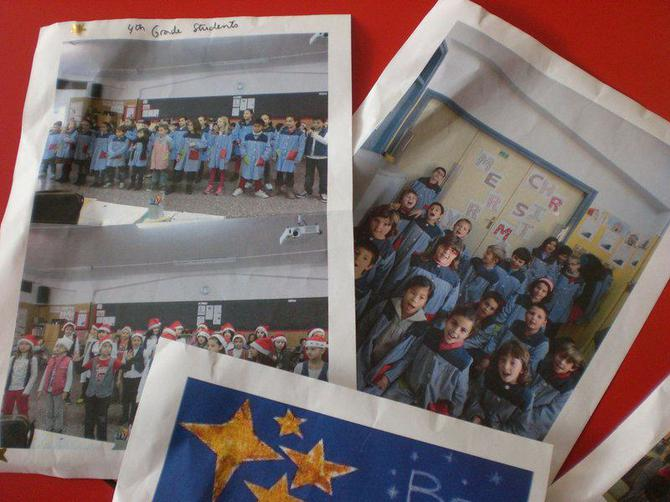 They also sent some photos. Very exciting!
