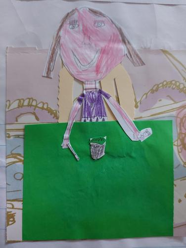 Creating pictures in the style of Lauren Child