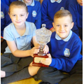 Brooke & Mason - trophy: most competitions entered