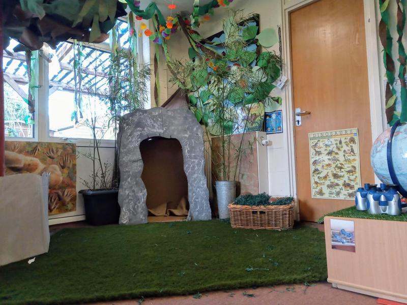 Dinosaur jungle role play