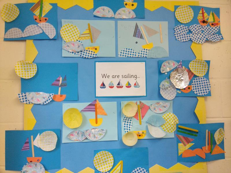 Using shapes to make boats